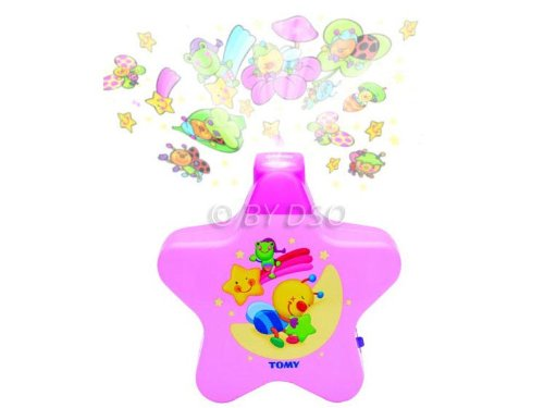 Tomy Starlight Dreamshow Projector Pink 0+ Years TOMY-2013