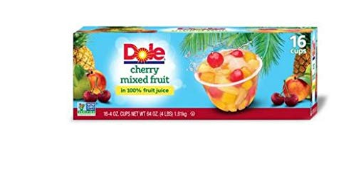 Dole Cherry Mixed Fruit 16/4 oz