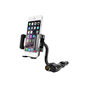 Cell Accessories For Less (TM) Cellet Cell Phone Holder with DC Car Charger Plug and USB Charging Port for Samsung Galaxy Exhibit T599 Bundle (Stylus & Micro Cleaning Cloth) - By TheTargetBuys