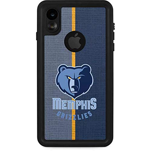 (Skinit Memphis Grizzlies Canvas iPhone XR Waterproof Case - Officially Licensed NBA Phone Case Waterproof - Snow, Dust, Waterproof iPhone XR)