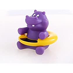 Sinwo Cute Animal Baby Infant Bath Tub Thermometer Water Temperature Tester Bath Toy (Purple)