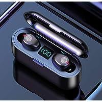 PANFREY Audífonos Bluetooth Inalámbricos, Control Táctil y LED Pantalla, Bluetooth 5.0 Auriculares Deportivos IPX7…