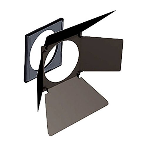 Hensel Barn Door (4-Wing) with Filter Holder for 12 Inch Reflector Hensel by Hensel