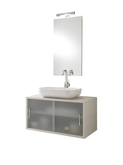 TFT Mobile Bagno con Specchio Giava: Amazon.it: Casa e cucina