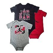 NIKE Jordan Infant Baby Bodysuit Set (3/6 Months, Assorted)