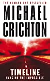 Front cover for the book Timeline by Michael Crichton