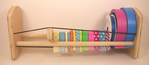 GSS 2n1 Craft / Washi Tape & Ribbon Organizer Dispenser (Ribbon Organizer Dispenser compare prices)