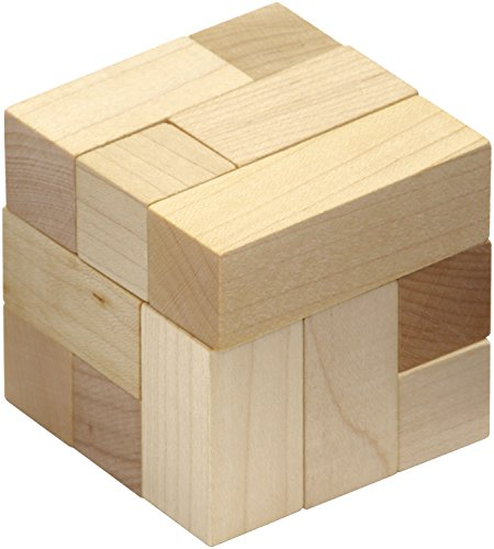 (Natural Soma Cube - Made in USA)