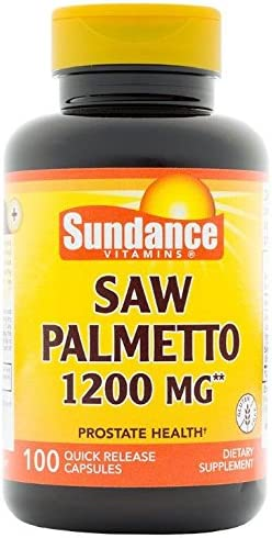 Sundance Saw Palmetto 1200 Mg Tablets, 100Count