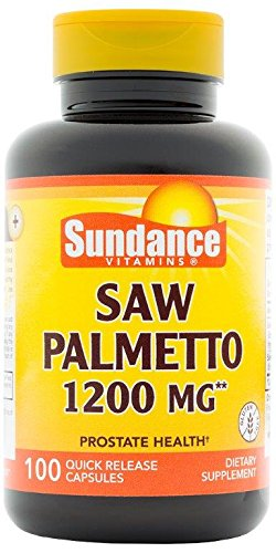 Sundance Saw Palmetto 1200 mg Tablets, 100 Count Review
