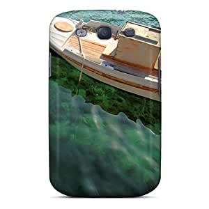 Anti-scratch And Shatterproof Small Boat Phone Case For Galaxy S3/ High Quality Tpu Case