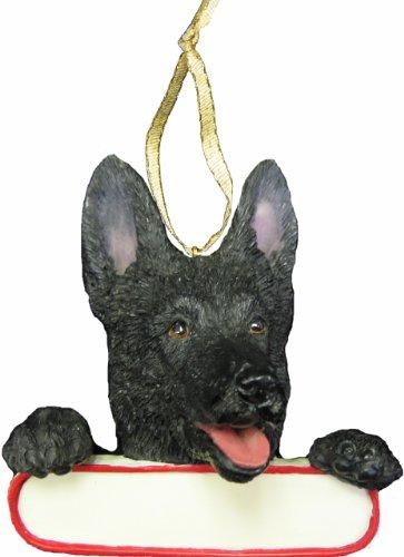 Dog Names German Shepherds - German Shepherd Ornament Black