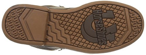 Western Horseshoe Women's Boot Roper Chocolate Kiltie qtzwxp