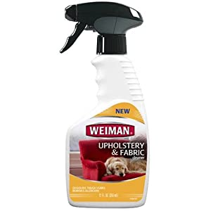 Weiman Upholstery & Fabric Cleaner 12Oz Trigger 3-Pack