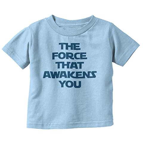 Brisco Brands Force Awaken You Cute Shirt Star War Funny Baby Clothes Nerdy Toddler Infant T