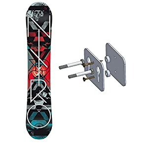 Floating Snowboard Wall Mount Deck Display Rack StoreYourBoard