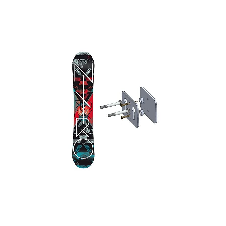 Floating Snowboard Wall Mount Deck Display Rack StoreYourBoard
