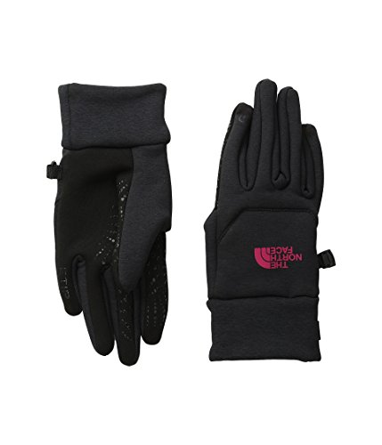 The North Face Women's Etip Hardface Gloves (Sizes XS - M) - black/pink, m