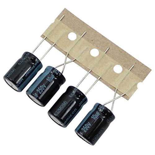 10x Elko Kondensator radial 10/µF 250V 105/°C ; TKP100M2EG16M ; 10uF