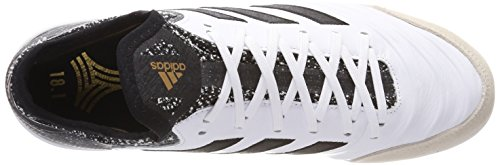 adidas Herren Copa Tango 18.1 in Fußballschuhe, Weiß/Schwarz Weiß (Footwear White/Core Black/Tactile Gold Metallic)