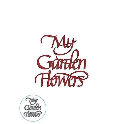 My Garden Flowers English PMetal Cutting Dies Stencils for DIY Scrapbooking Making New 2019 -