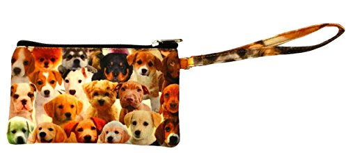 Dogs Galore Zipper Wristlet...