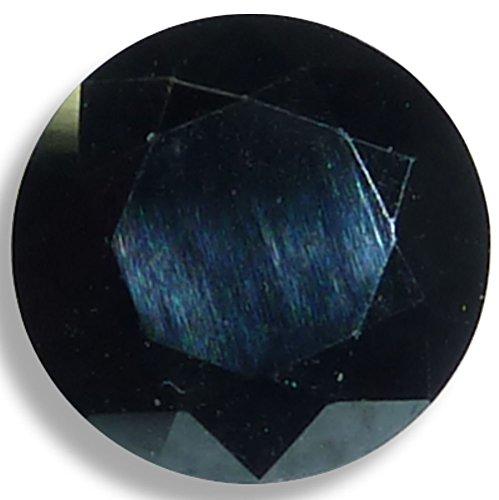Natural Spinel Black Round Brilliant Loose Unset Gem (6mm-2pc) by Optima Gem (Image #3)