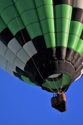 Download Green Hot Air Balloon Journal: Take Notes, Write Down Memories in this 150 Page Lined Journal PDF