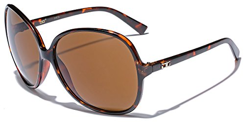 Oversized Frame Women's Round Butterfly Shape - Discount Sunglasses