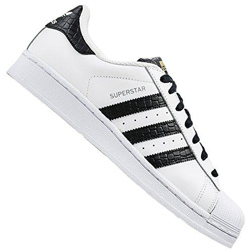 S75880 Unisex Nero Sportive Adulto Bianco Superstar Scarpe Adidas 7wxqR5Ev