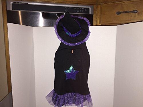 Beaner Costume (Halloween Med Dog Whic Costume 11-15 ibs)