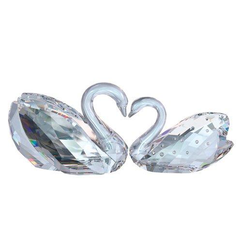 Swarovski Crystal Love Swan Figurine 1143414