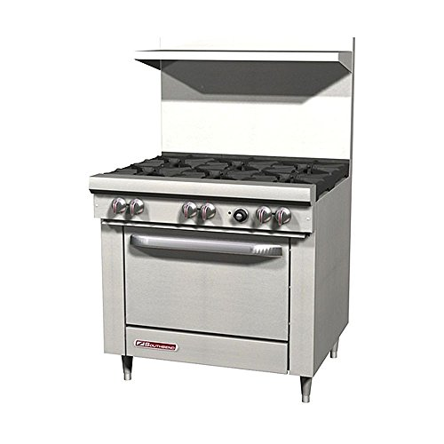 Southbend S36D 6 Burner 36'' Gas Range with Oven by JennAir