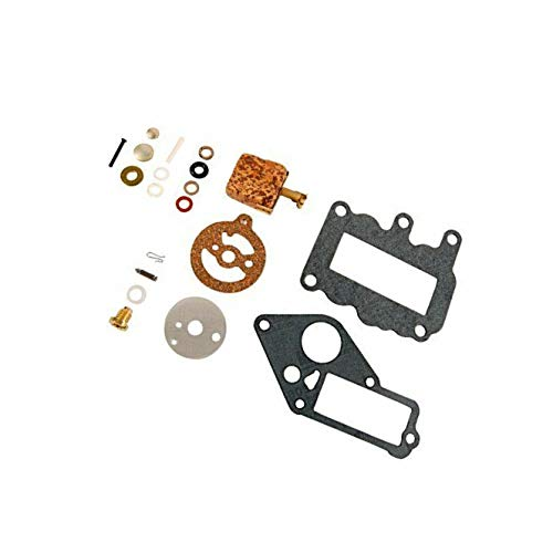 I-Joy 382048 New Carburetor Repair Kit for Johnson Evinrude Outboard Engine 9.5 HP 1964-1973 382048 BRP/OMC Carb Rebuild Set High Performance ()