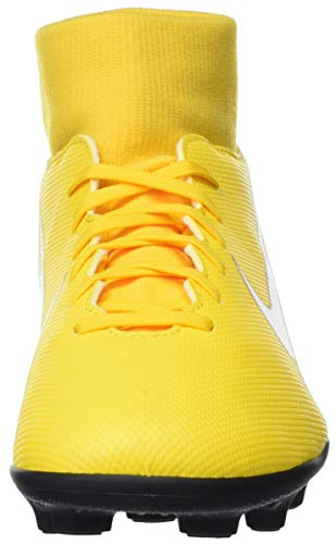 FG White 6 MG Amarillo Fútbol Zapatillas 710 Black Unisex Club de NJR Adulto Superfly Nike Amarillo SIxAaqRw