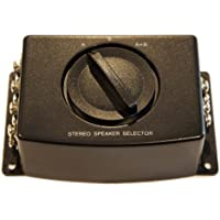 A/b a B A+b Stereo Speaker Selector Switch Switcher Combiner 2 Way Black Box