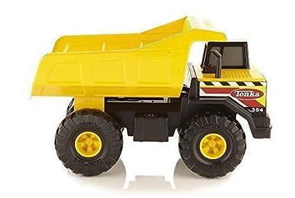 Tonka Construction Toys For Boys : Amazon tonka mighty dump truck vehicle classic steel toy
