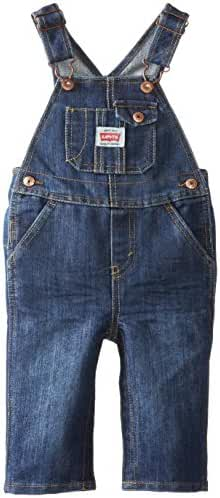 Levi's Baby Boys' Denim Overall with Snappy Tape