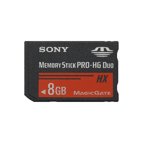Sony MSHX8B 8GB Memory Stick PRO-HG Duo Media