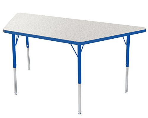 (Marco Group Trapezoid Adjustable Activity Table, 24