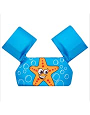 Arm Bands Children Floation Swimsuit,Toddler Swimming Float Vest, Swim Training Jacket for 2-6 Years Boys Girls,Arm Sleeves Learn-to-Swim Water Wings Swimming Arm Floats, Arm Bands Float Vest