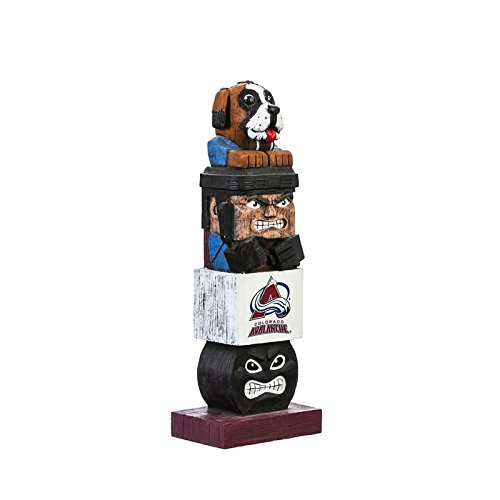 Team Sports (Team Sports America Colorado Avalanche Tiki Team Totem Garden Statue)