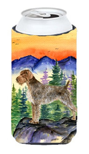 German Wirehaired Pointer  Tall Boy Beverage Insulator Beverage Insulator Hugger