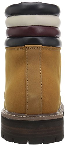 Tommy Hilfiger Mens Halle Combat Boot, Cognac, 12 Medium Us