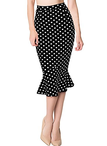 Missmay Womens Skirts Casual Ruffle