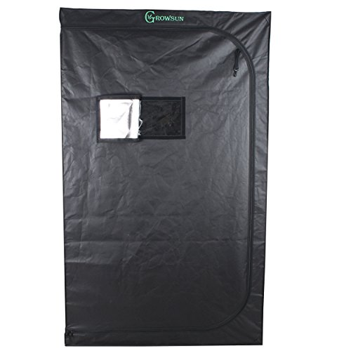 "41HqRk9R66L - Growsun 36""x24""x36"" Grow Tent 3x2, Indoor Hydroponic Growing Tent 36 Inch Width for Plant"