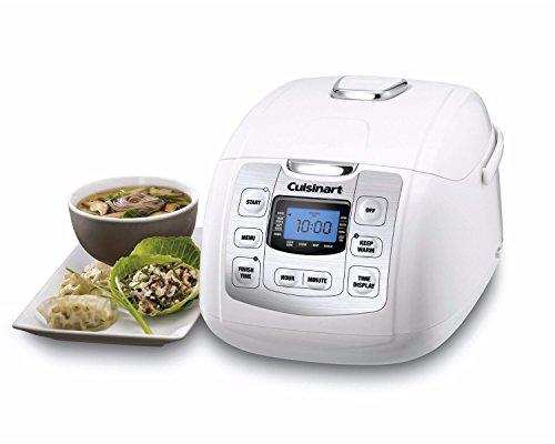 Cuisinart Fuzzy 8-Rice Cooker, White