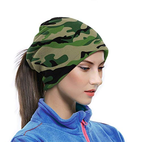 Belongtu Écharpe Military Pattern Headband Face Cover Bandana Head Wrap Scarf Neck Warmer Headwear Balaclava for Cold… 3