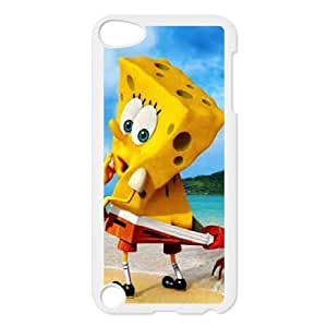 iPod Touch 5 Cell Phone Case White Sponge Bob AFK340811