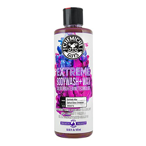 Chemical Guys CWS20716 Extreme Bodywash & Wax Car Wash Soap with Color Brightening Technology, 16. Fluid_Ounces